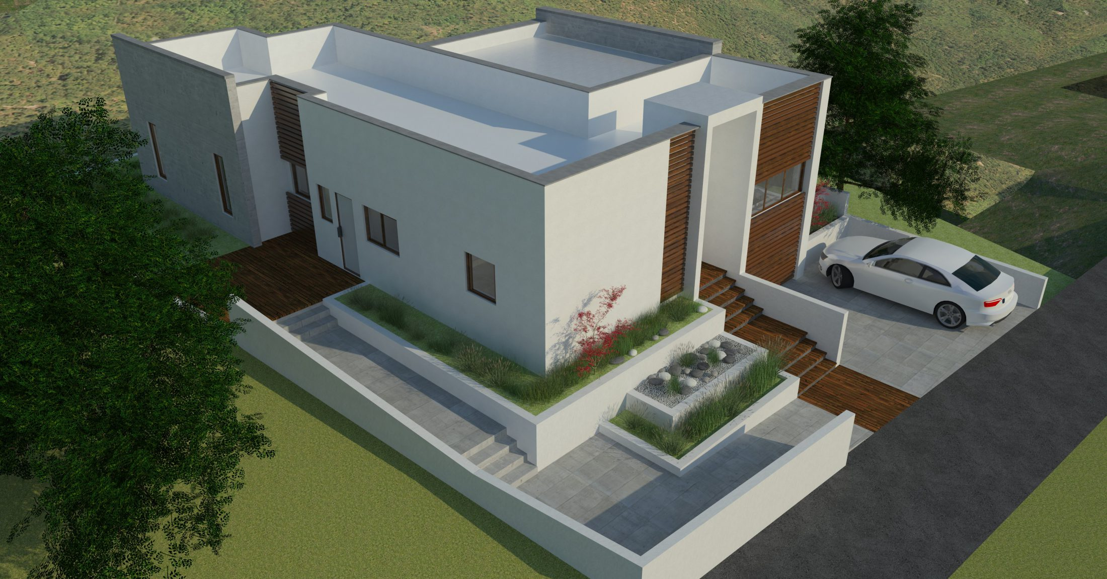 Будинок в концепції мінімалізм