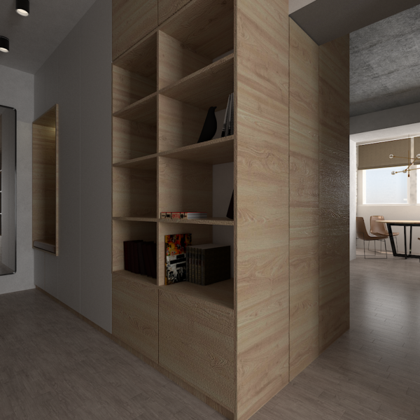Small functional apartment -