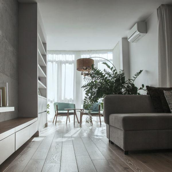 Комфортний мінімалізм, всі відтінки сірого -