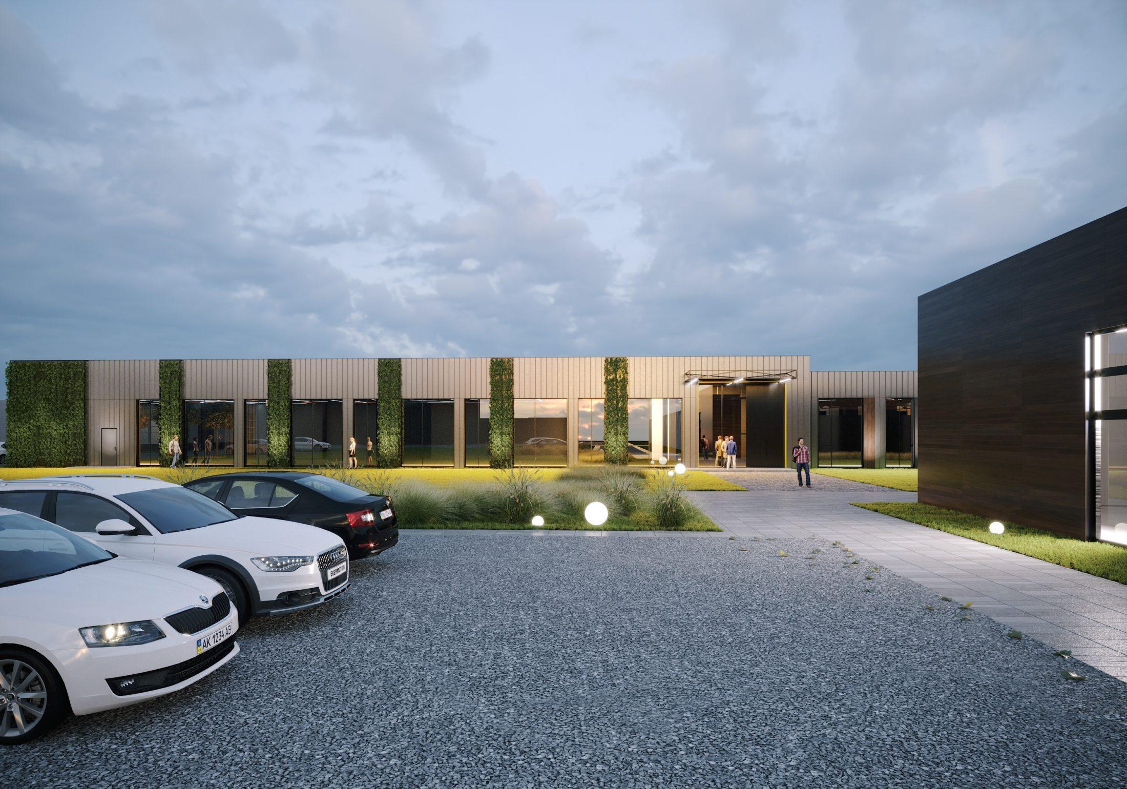 Проект офісної будівлі