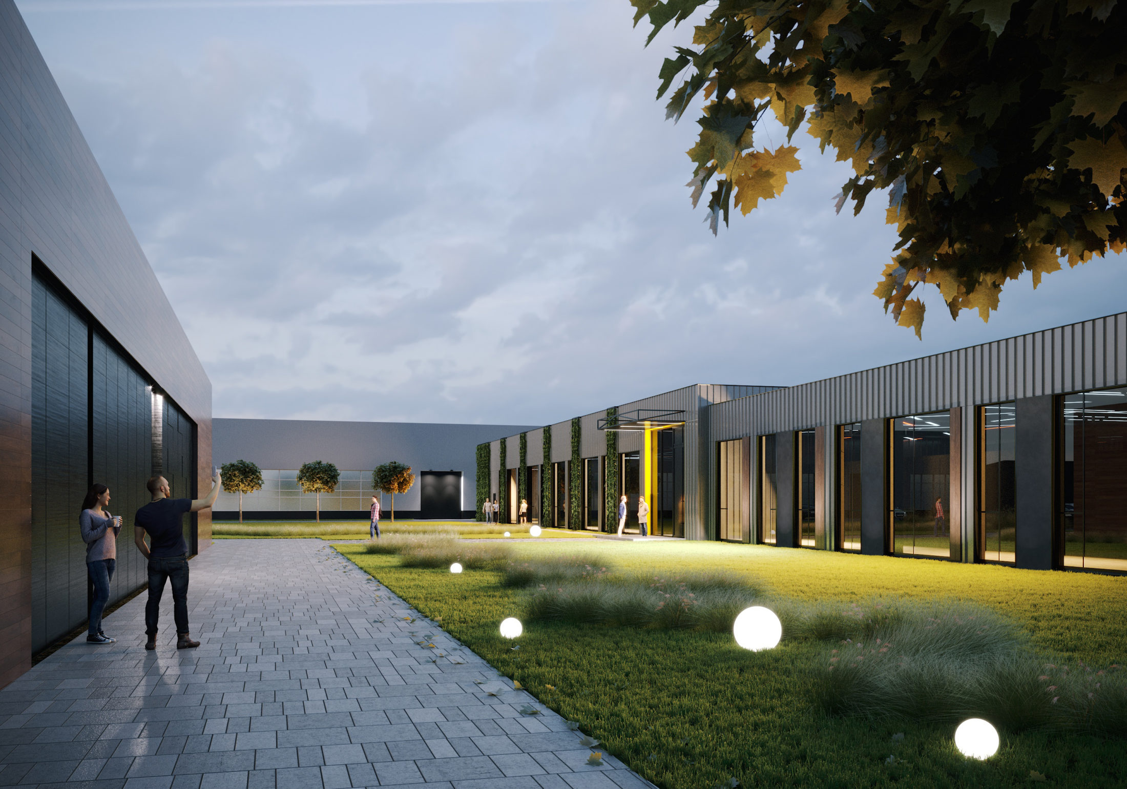 Проект офисного здания